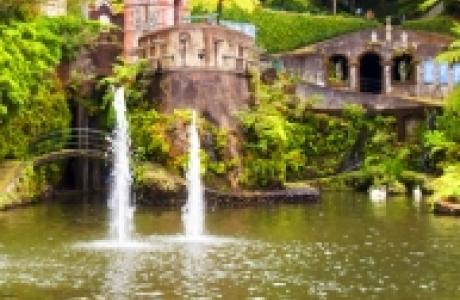 Тропические сады на горе Монте