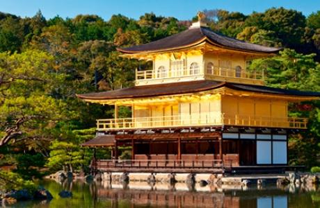 Золотой павильон Кинкакудзи