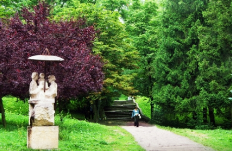 Курортный парк в Трускавце
