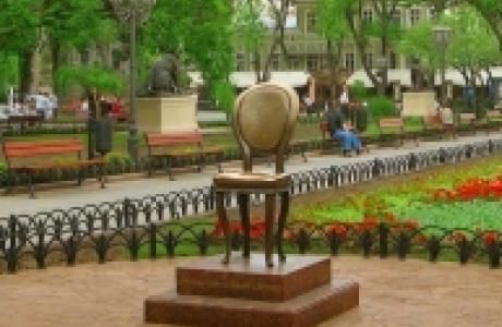 Памятник 12-ому стулу