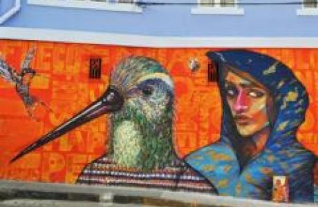 Музей фресок под открытым небом