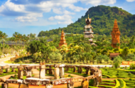 Тропический сад Nong Nooch