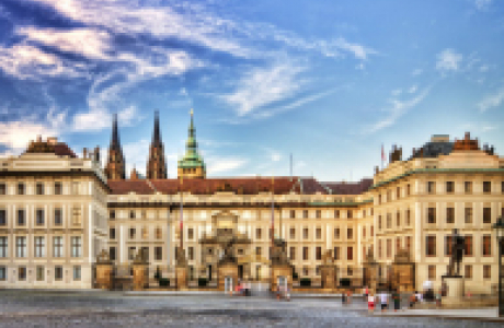 Старый королевский дворец в Праге