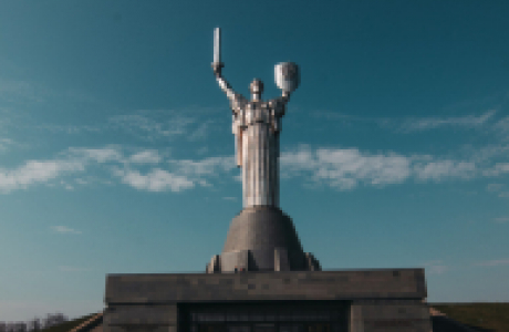 Motherland Monument in Kyiv