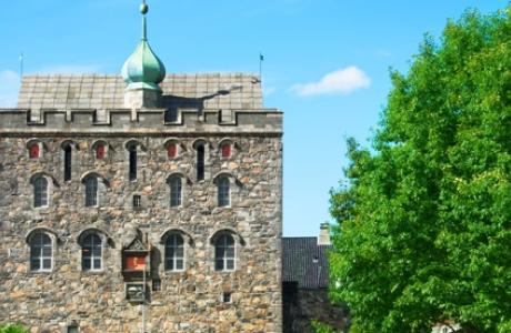 Башня Розенкранц в Бергене