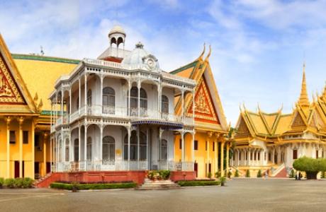 Королевский дворец Пномпень