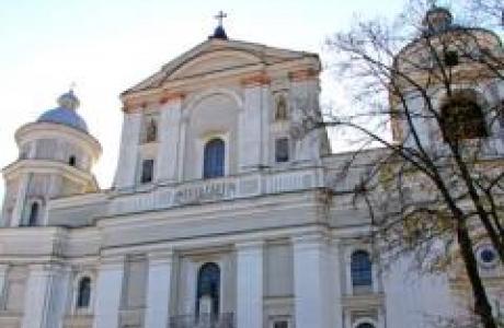 Петропавловский костел в Луцке