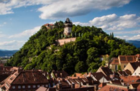 Замок Шлоссберг фото