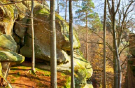 Скалы Довбуша в Яремче