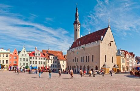 Ратуша и Ратушная площадь в Таллине