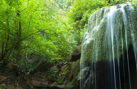 Водопад Серебряные струи