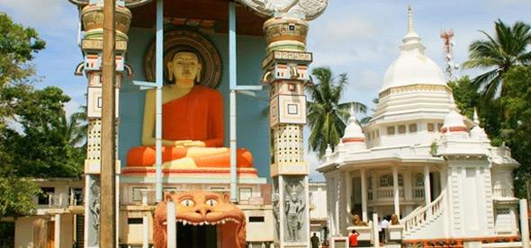 Буддийский Храм Ангунукарамулла
