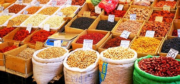 Рынок в Оше