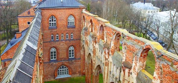 Руины Домского собора