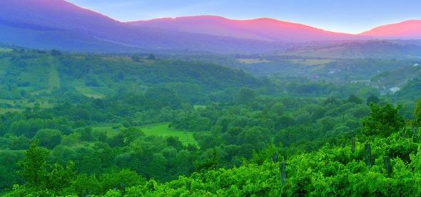 Гора Эгредь в Хевизе
