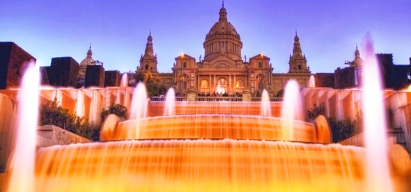 Волшебные фонтаны Монтжуика