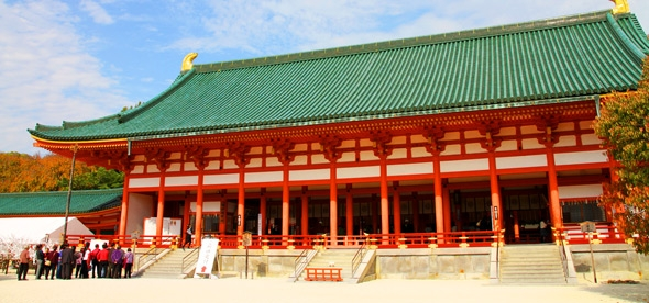 Императорский дворец Киото