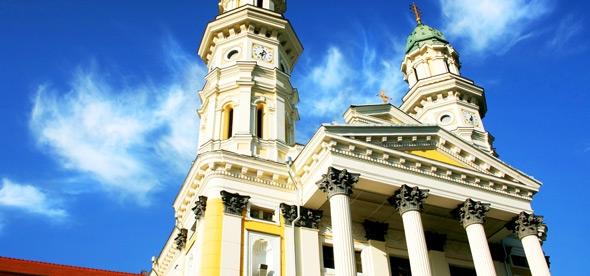 Крестовоздвиженский собор в Ужгороде