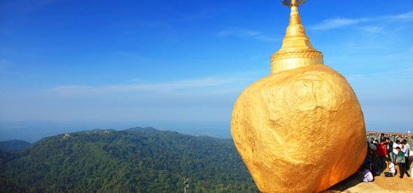 Золотой Камень в Янгоне