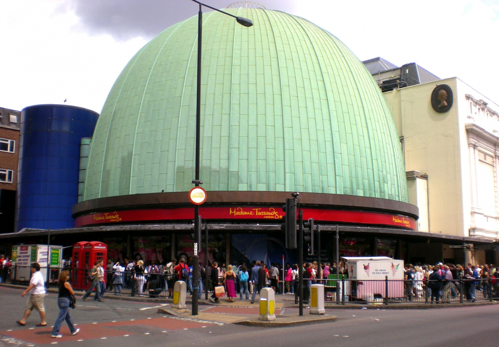 Madame Tussauds Museum in London