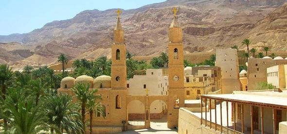 Монастыри Св. Павла и Св. Антония в Хургаде