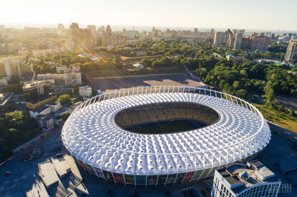 Olympic National Sports Complex in Kyiv