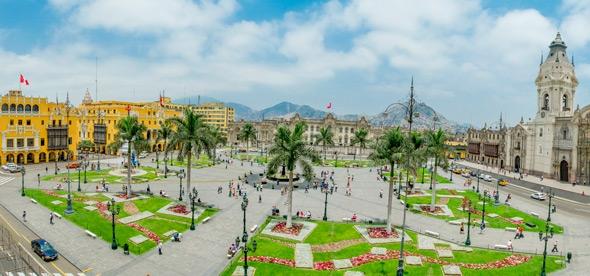 Площадь Пласа де Армас