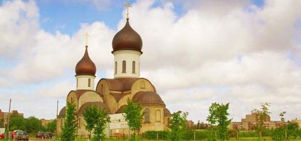 Покрово-Никольский храм в Клайпеде