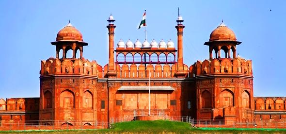 Красный Форт в Нью-Дели
