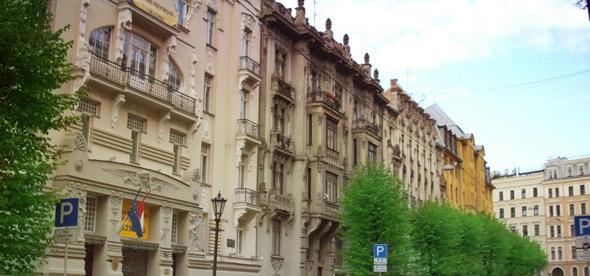 Улица Альберта и Посольский район