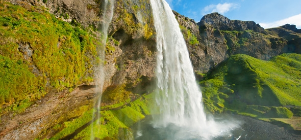 Водопад Сельяландсфосс