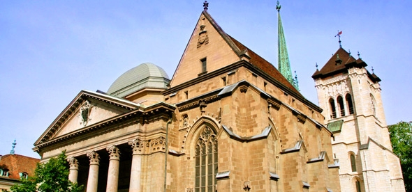 Собор Святого Петра в Женеве