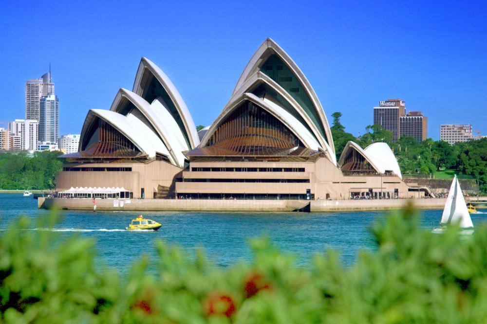 Сиднейский оперный театр фото