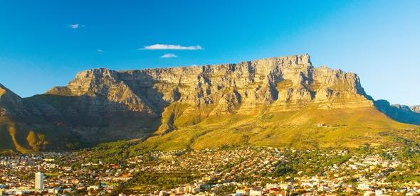 Столовая гора Кейптауна в ЮАР