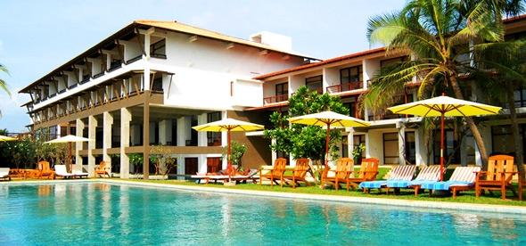 Отель Jetwing Beach Hotel