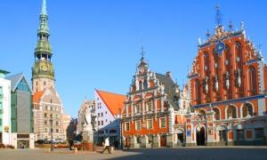 Hoteles en Riga