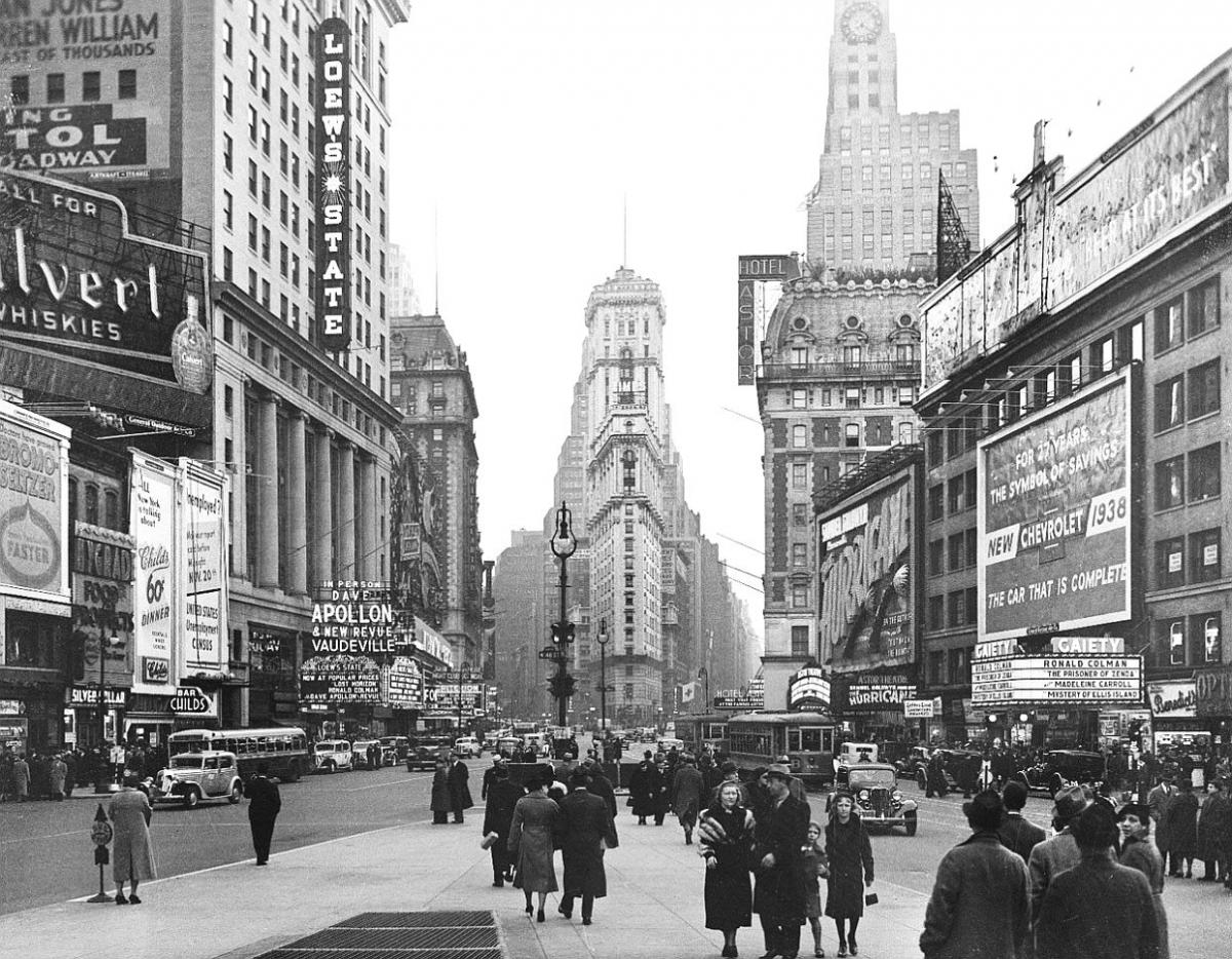 Times Square 1938