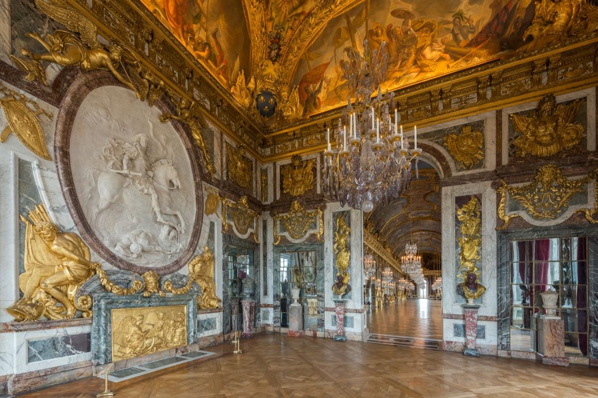 Версальский дворец салон войны