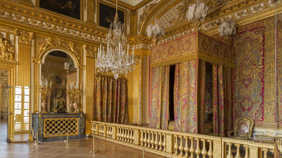 Версальский дворец спальня короля