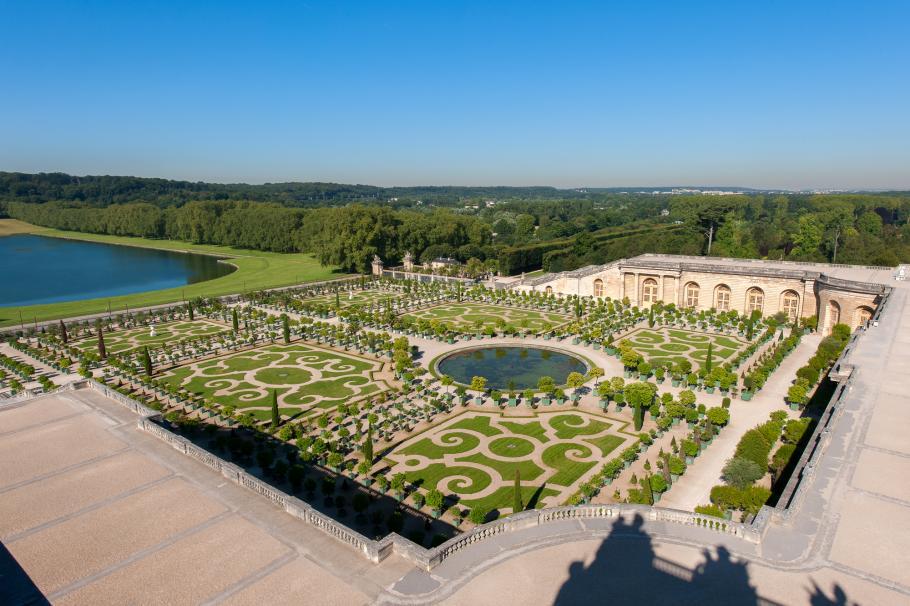 Сады и парк Версальского дворца