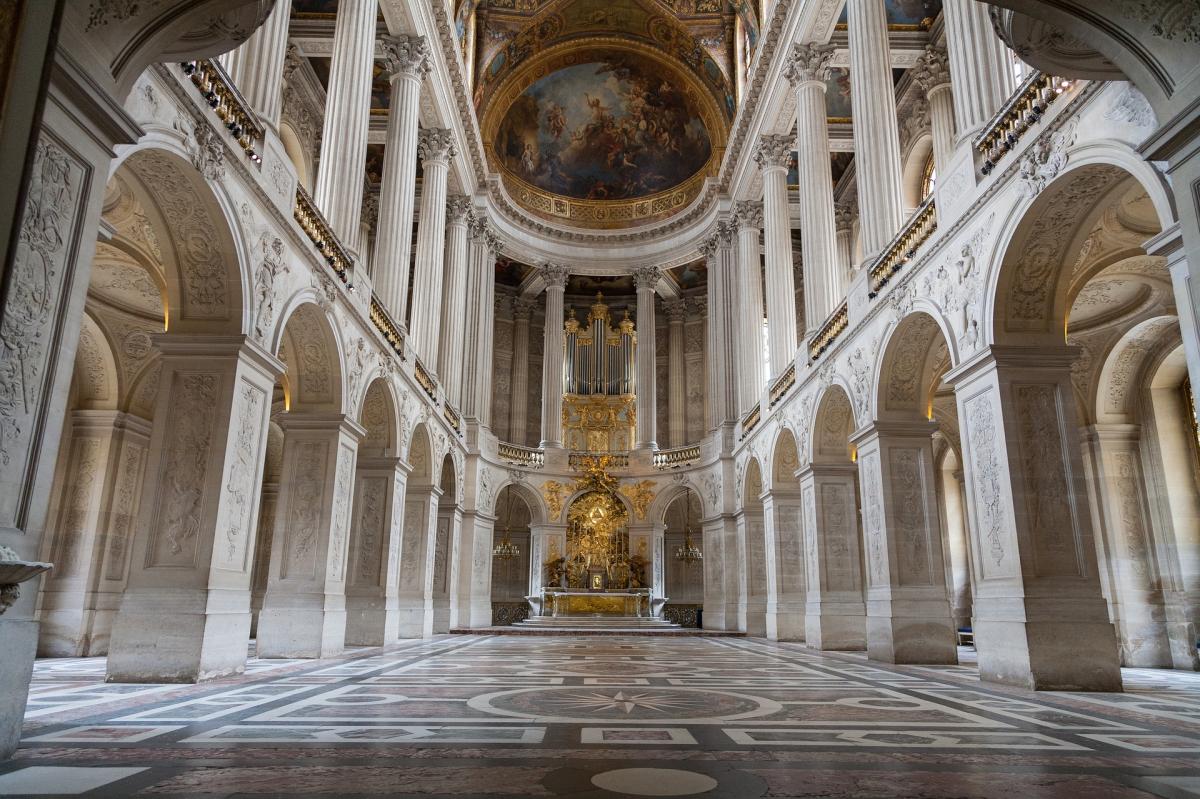 Версальский дворец Королевская капелла